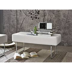 Target Point Sp104 - Square Bench in metal / eco-leather