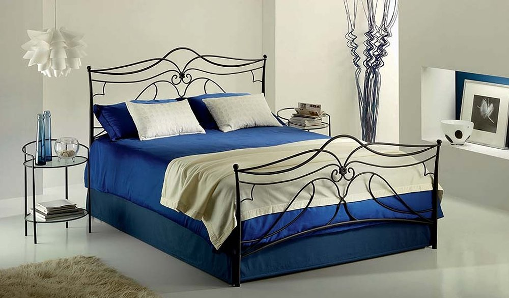Photos 1: Target Point Double bed in iron ANNA