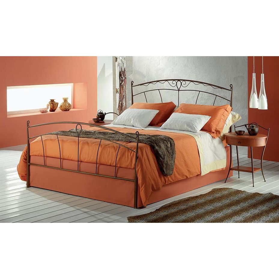 Photos 1: Target Point Double bed in iron PENELOPE