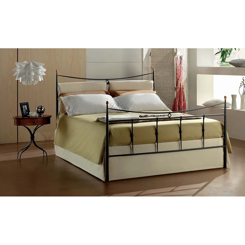 Photos 2: Target Point Double bed in iron GRACE