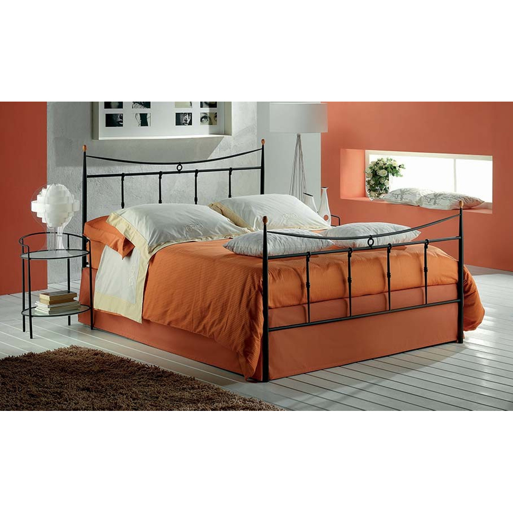Photos 1: Target Point Double bed in iron GRACE