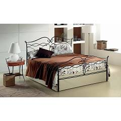 Target Point Lucy Double bed in iron with container