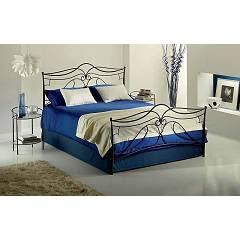 Target Point Anna Double bed in iron with container