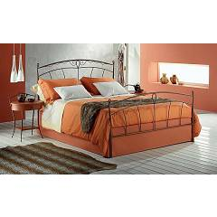 Target Point Penelope Double bed in iron with container