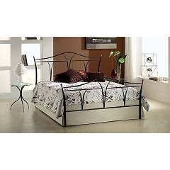 Target Point Anita Double bed in iron with container