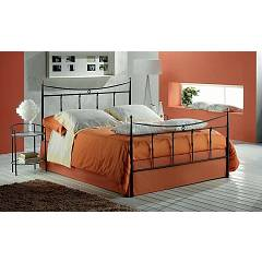 Target Point Grace Double bed in iron with container
