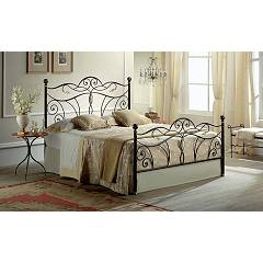 Target Point Tiffany Double bed in iron with container