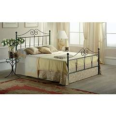 Target Point Katherine Double bed in iron with container