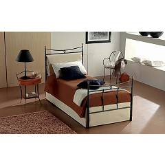 Target Point Grace Single bed in iron with container