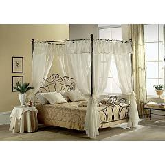Target Point Tiffany Double bed with baldacchino
