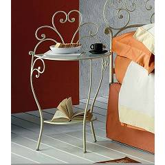 Target Point Meg Bedside in iron and glass