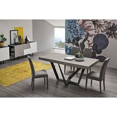 Target Point Apollo Extendable table with metal structure and laminate top