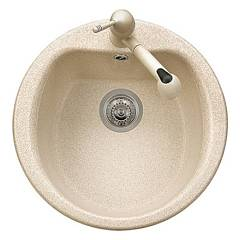 Telma Pl5101 Built-in sink diam. 51 monovasca round Vogue - Telmagranit