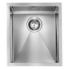 Telma Mr03800 Semifilous sink 39 x 45 - satin stainless steel 1 bowl Maky R