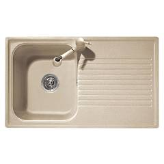 Telma Ft08610 Built-in sink 86 x 50 reversible - 1 bathtub - gucciolatoio Futura - Telmagranit