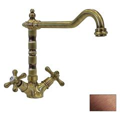 sale Telma Mon30 - Old Life Kitchen Faucet - Antique Copper Hole