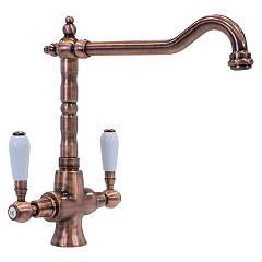 sale Telma Mon31 - Old Life Kitchen Faucet - Antique Copper Hole