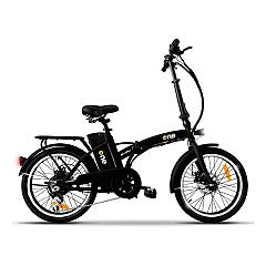 The One Easy Electric bicycle - matt black