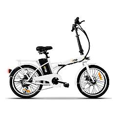 The One Easy Electric bicycle - shining white