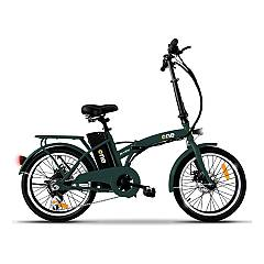 The One Easy Electric bicycle - forest green