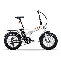 The One Rsiii Electric bicycle - shining white