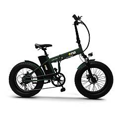 The One Nitro Electric bicycle - forest green
