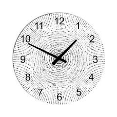 Tomasella Clock 603 Designerski zegar ścienny 45 cm - metal Clock Collection