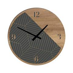 Tomasella Clock 642 Design wanduhr 45 cm - holz Clock Collection