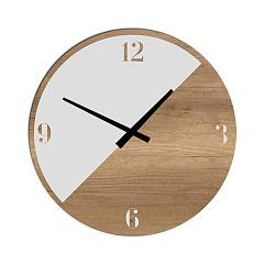 Tomasella Clock 643 Design wanduhr 45 cm - holz Clock Collection