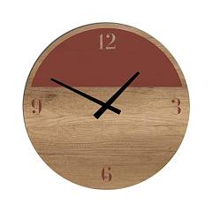 Tomasella Clock 644 Design wanduhr 45 cm - holz Clock Collection