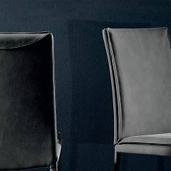 Photos 3: Tonin Casa SCARLET 7253 Chair covered in eco-leather / leather