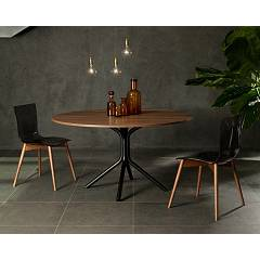 Photos 3: Tonin Casa ARIA WOOD 7225 Wooden and plastic chair