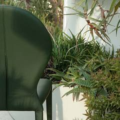 Photos 3: Tonin Casa ZAR 7220 Chair covered in eco-leather / leather