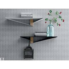 Tonin Casa ALBATROS 6441 Shelf metal and wood, l. 70 x 20