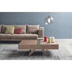 Tonin Casa Matrioska 6278 Coffee table in metal and wood, l. 120 x 36 with the outer container