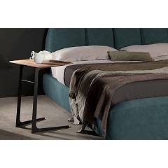 Tonin Casa Empire 6036h Table in metal and wood l. 50 x 38