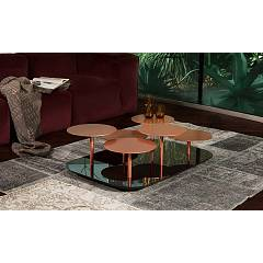 Tonin Casa Valentine 6026r Metal table l. 107 x 72