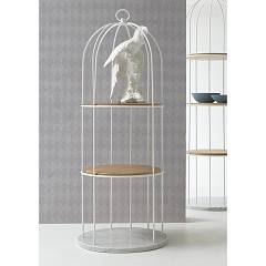 Tonin Casa Tweet 7245s Metal bookcase d. 57 h. 155