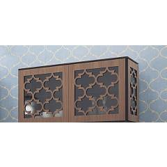 Tonin Casa Marrakesh 8702 Wall unit / showcase with 2 doors l. 124