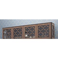 Tonin Casa Marrakesh 8704 Wall unit / display with 4 doors l. 244