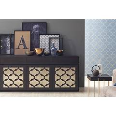 Tonin Casa Marrakesh 8714 D Sideboard in wood with 3 doors and 3 drawers l. 184