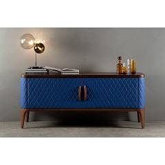 sale Tonin Casa Tiffany 6437 Sideboard With 2 Doors Coated L. 176