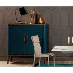 sale Tonin Casa Tiffany 6438 Sideboard With 2 Doors Coated L. 126 H. 140