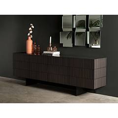 Tonin Casa Flamingo 8642 Sideboard in wood with 4 doors l. 240