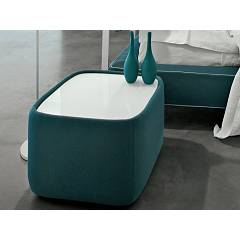 Tonin Casa Teeny 7337 Comodino covered in fabric / eco-leather / leather