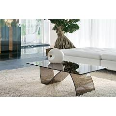 Tonin Casa Alissa 6806rm Table in glass l. 120 x 64
