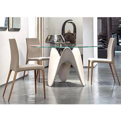 sale Tonin Casa Gaya 8071fs Tp Fixed Table Round D. 120