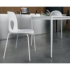 Tonin Casa Hole 7207 Chair in metal and polypropylene