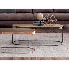 Tonin Casa Cora 6035g Ovoidal table l. 110 x 48