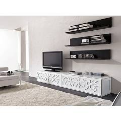sale Tonin Casa Paris 8359 D Tv Door 2 Drawers L. 244 H. 48